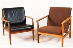 Ejvind A. Johansson , Lounge Chair by FDB, Grethe Jalk, Lounge Chair by France & Daverkosen | DesignAddict