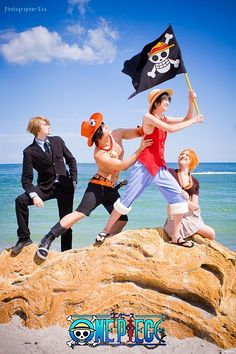 ONE PIECE - FLAG Nami Cosplay, Cosplay Anime, Epic Cosplay, Amazing Cosplay, Cosplay Outfits, Cosplay Costumes, One Piece Cosplay, Real Anime, One Piece Anime