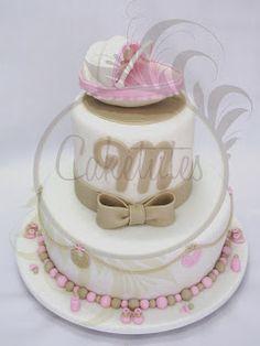 Caketutes Cake Designer: Bolo Chá de Bebe - baby Shower cake