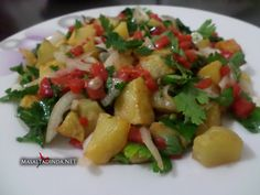 kızartmış patates salatası tarifi