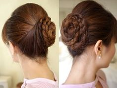 Formal Prom Hair Updo Tutorial - YouTube Seems simple enough. Maybe with a little practice.