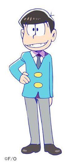 """松野おそ松 : 松野家長男。6つ子の中でも中々のクズでバカだけどお兄ちゃん気質で弟の面倒をちゃんと見る、私の""""推し松""""です"""