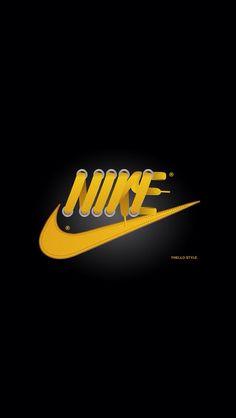 "Hugo Silva, former student from IADE, sells ""shoe laces"" to Nike! Handy Wallpaper, Nike Wallpaper, Sneakers Wallpaper, Ads Creative, Creative Design, Anuncio Nike, Branding, Nike Logo, Adidas Logo"