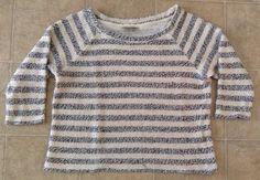 Lucky Brand Women's Crop Striped Shirt Sz XS / C #LuckyBrand #CropTop