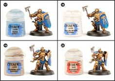 I thought I'd put the White Dwarf free Stormcast Eternal model to good use and create a tutorial. So if you want more than just there p...