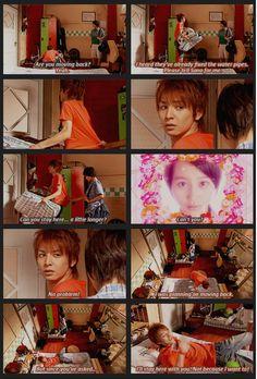 Hana Kimi #japanese #jdrama Funny Movie Lines, Funny Movies, Chines Drama, Otaku Mode, Movies Worth Watching, Japanese Drama, Picture Story, Strong Girls, Japan Art