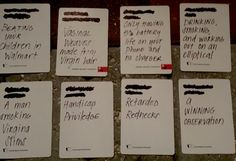 Fucking Best and Hilarious ideas for your blank cards of humanity cards
