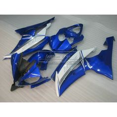 427.80$  Watch here  - Injection mold fairing kit For YAMAHA YZF R6 2008 2009-2013 2014 blue white black new fairings set YZFR6 08-14 JL45 +7 gifts