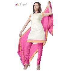 Casual Cotton Salwar Kameez Material PS033  - Online Shopping for Salwar Suit by Platinum