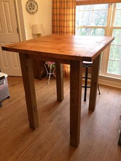 Ana White | Small Pub Table - DIY Projects #diytablessmall