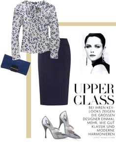 """""""Blouse by A.P.C."""" by fashionmonkey1 ❤ liked on Polyvore"""