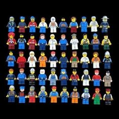 10 LEGO Minifigures Figures Men People Minifigs @ niftywarehouse.com #NiftyWarehouse #Geek #Products #StarWars #Movies #Film