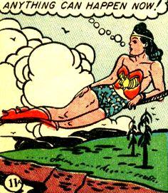 —Wonder Woman #7 (1943) by William Moulton Marston & H.G. Peter