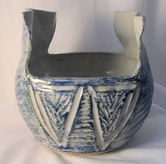 Thrown and carved pottery Demaliacreations@gmail.com