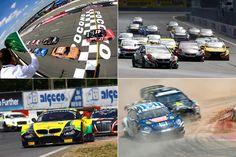 A lista está bem gorda: o resumo também tem vídeos de F-E, Indy, X Games e mais outras 23 corridas!