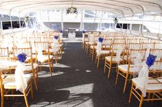Hornblower Cruises & Events, Wedding Ceremony & Reception Venue, California - Los Angeles County and surrounding areas. This is the perfect boat venue. I'm currently obsessed with a nautical wedding theme, and what better place than a boat?! It's fun and beautiful, especially for the smaller wedding.