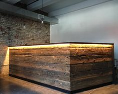 Reclaimed Hemlock Reclaimed hemlock boards, price is for a board that is about 6 long, 8 wide and 7 / thick. The board has amazing texture and character. It is a very versatile board, ideal Coffee Shop Design, Cafe Design, House Design, Gym Design, Interior Design, Basement Bar Designs, Home Bar Designs, Small Basement Bars, Office Designs