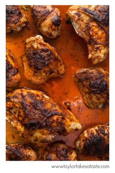 The mix of smoky, sweet, citrus, and the smallest amount of heat is a welcome change to traditional baked chicken.
