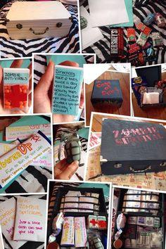 Zombie Survival Kit DIY                                                       …