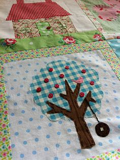whimsical and wonky quilt blocks