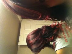 Hair- Red tips