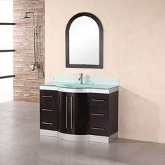 "Found it at Wayfair - 48"" Single Bathroom Vanity Set with Mirror"
