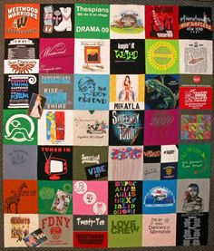Westwood Warriors T-shirt Quilt Westwood High School, Warriors T Shirt, Shirt Quilts, Orange Crush, Graduation Gifts, Quilt Making, Blankets, Sewing Projects, Quilting