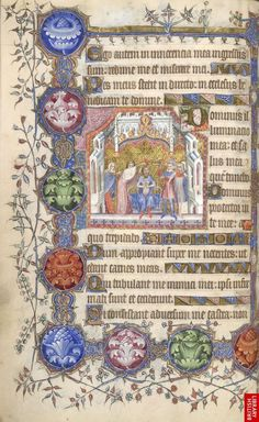 This week's #ManuscriptMonday word is 'Palette'.  The range of colours used in a work. The term derives from the name of the flat surface on which paints are sometimes mixed, although shells were more commonly used to contain prepared pigments during the Middle Ages.