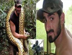 Demi Film Dokumenter, Pria Ini Rela Ditelan Anaconda