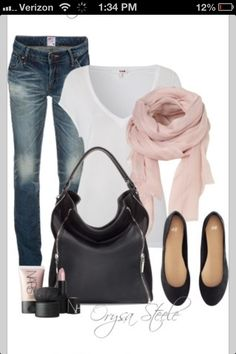 Fall outfit....later in fall with tall boots