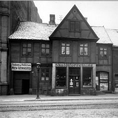 Old building from the early 1600s, Oslo Norway