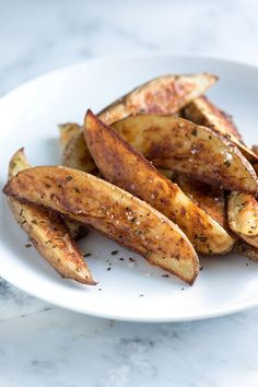 Rosemary Roasted Potato Wedges