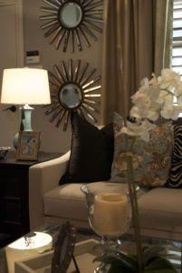 Small Decorative Accent Wall Mirrors