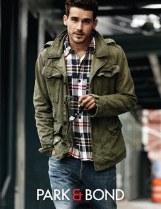 (via Fashion - Men Clothing / casual) mens fashion. fall look men's clothing Rugged Style, Man Style, Sharp Dressed Man, Well Dressed Men, Moda Men, Mode Cool, Style Masculin, Foto Fashion, Fashion Blogs