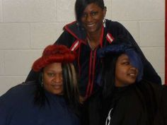 A pic just before we style this hair and Rip the Runway....*All work done by *NueNew the Hair Diva