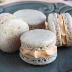 Cinnamon thyme orange macaroons