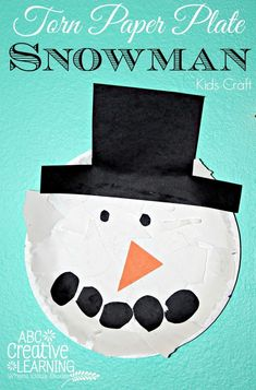 paper plate snowman craft 1000 images about january on warm classroom 5115