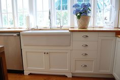 """Looking to add a farmhouse sink to an Ikea 30"""" sink cabinet. The manuf. says the cut out will fit since the sink is 27.5"""" but I'm not sure if this sink is for a Farmhouse style. I saw only a 36"""" on display at Ikea that had a farmhouse sink in it. They guy at HD said it would not fit u..."""