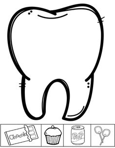 diş kitapcığı Teeth Clip, Community Helpers Preschool, 1st Grade Science, Easy Drawings For Kids, Health Activities, Science Worksheets, Preschool Curriculum, Dental Hygienist, Hygiene