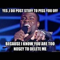 Right right!!! Lmao. Again, you know who you are