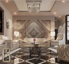 Living room Luxury Interior, Modern Interior Design, Luxury Furniture, Room Interior, Living Room Tv, Living Room Modern, Living Spaces, Floor Design, House Design