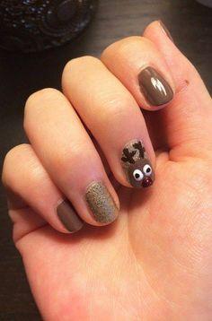 Rudolph manicure