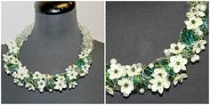 Flower Jewelry (white flowers) | Florists - Godalen