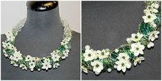 Flower Jewelry (white flowers) | Florists - Godalen