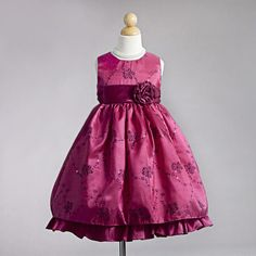 Fashionably Yours - Sienna Hot Pink Flower Girls Dress, $89.95 (http://fashionably-yours.mybigcommerce.com/sienna-hot-pink-flower-girls-dress/)