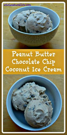 This peanut butter chocolate chip coconut ice cream is dairy-free, honey-sweetened, and suitable for the GAPS and Paleo diets. Try this easy ice cream today!