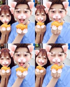 Park Shin-hye and Yoon Kyun-sang's cute video Doctors Korean Drama, Kyun Sang, Korean Entertainment News, Park Shin Hye, Korean Actors, Korean Dramas, Cute Gif, Singing, Japan