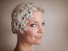 Lucinda Lace bridal headpiece