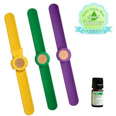 We know kids love accessories and don't like being bitten by bugs. The Buglet slap bracelet is an innovative way to repel those bugs away from your kids, without having to apply anything directly to their skin. - Green Scene Mom 2015 Spring Award Winner