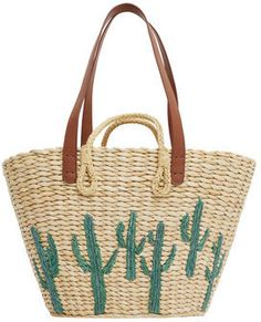 191 Best Straw bags images in 2019  185683cb6a7db